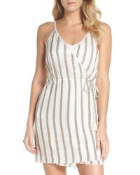 Becca - Serengeti Cover-up Wrap Dress - Lyst
