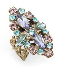 Sorrelli | Edelweiss Crystal Cocktail Ring | Lyst