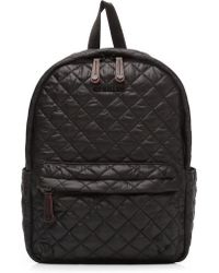 MZ Wallace | 'small Metro' Quilted Oxford Nylon Backpack | Lyst