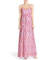 Felicity & Coco - Woven Maxi Dress - Lyst