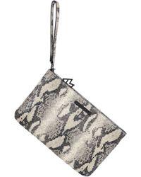 Kelly Wynne - Risky Biz Convertible Leather Wristlet - Lyst