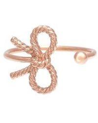 Olivia Burton | Bow Ring | Lyst