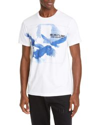 Helmut Lang Three Eagles T-shirt - White