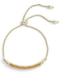 Kendra Scott - Gilly Adjustable Bracelet - Lyst