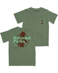 Parks Project Men's Our National Parks Pocket Graphic Tee - Green