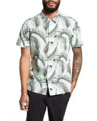 00dd534e8a7 Bonobos Slim Fit Hula Print Sport Shirt in White for Men - Lyst