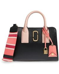 Marc Jacobs - Little Big Shot Leather Tote - - Lyst