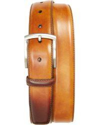 Magnanni - Tanning Leather Belt - Lyst