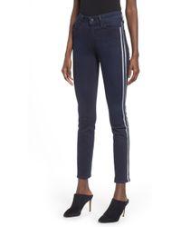 PAIGE - Transcend Vintage - Hoxton High Waist Ankle Peg Jeans - Lyst