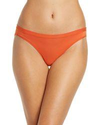 Madewell Softest Stretch Modal Bikini - Orange