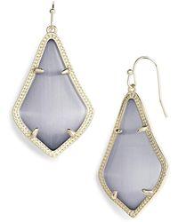 Kendra Scott Alex Drop Earrings - Metallic