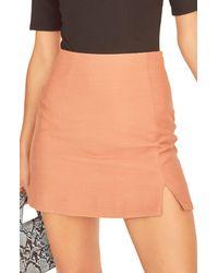 Astr Lindee Miniskirt - Orange