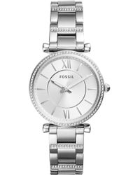Fossil Women's Carlie Watch - Metallic