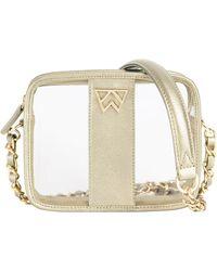 Kelly Wynne Clear Mingle Mingle Mini Crossbody Bag - Multicolor