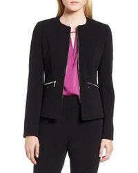 BOSS - Jazulara Twill Jersey Suit Jacket - Lyst