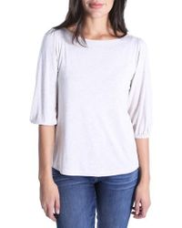 Kut From The Kloth - Kut From The Cloth Knit Tee - Lyst