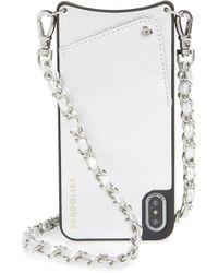 Bandolier - Sarah Leather Iphone 8/8 Plus/x/xs/xs Max & Xr Crossbody Case - Metallic - Lyst