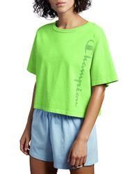 83da93d0416f Alternative Apparel Vintage Garment Dyed Crew T-shirt in Green - Lyst