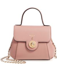 Stefano Serapian - Mini Gina Leather Top Handle Satchel - Lyst