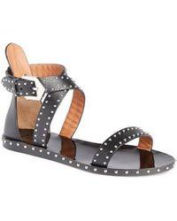Givenchy - Elegant Strappy Studded Sandal - Lyst