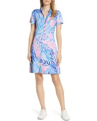 60934a2e135 Lilly Pulitzer Arielle Tunic Dress in Blue - Lyst