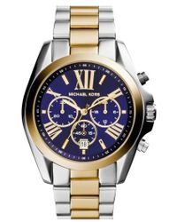Michael Kors - Michael Kors 'bradshaw' Chronograph Bracelet Watch - Lyst