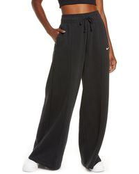 Nike Sportswear Knit Palazzo Pants - Black
