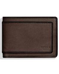 Shinola - Outlaw Wallet - - Lyst