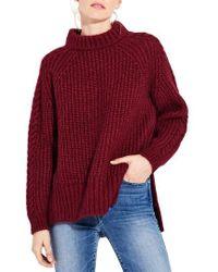 Ayr - The Spark Mock Neck Sweater - Lyst