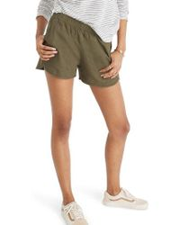 Madewell - Pull-on Shorts - Lyst