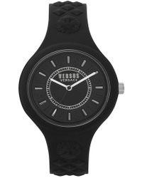 Versus - Versus By Versace Fire Island Silicone Strap Watch - Lyst