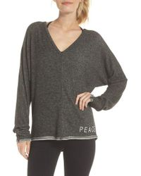 Good Hyouman - Peace & Love Pullover Sweater - Lyst