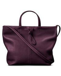 Shinola   Latigo Square Leather Shopper   Lyst