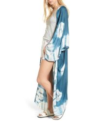 Free People - Spellbound Tie Dye Kimono Duster - Lyst
