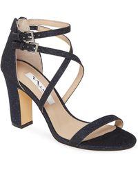 Nina Shari Strappy Sandal - Blue