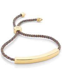 Monica Vinader - Large Linear Friendship Bracelet - Lyst