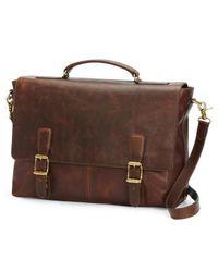 Frye | 'logan' Leather Briefcase | Lyst
