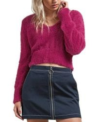 Volcom - Clued 2 You Sweater - Lyst