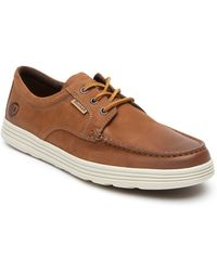 Dunham Colchester Moc Toe Derby - Brown