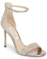 Nina - Deena Embellished Sandal - Lyst