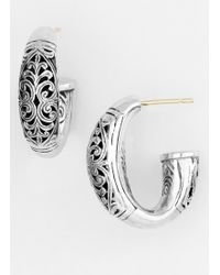 Konstantino 'classics - Daphne' Hoop Earrings - Metallic