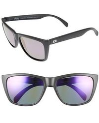 Rheos Gear - Sapelos Floating 61mm Polarized Sunglasses - Gunmetal/ Purple - Lyst