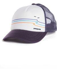 Patagonia - Tide Ride Interstate Trucker Hat - Purple - Lyst