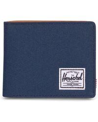 Herschel Supply Co. Hank Rfid Bifold Wallet - Blue