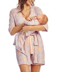 Lyst - Everly Grey Adaline During   After 5-piece Maternity nursing ... b49bf0e27