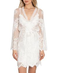 Jonquil Lace Wrap - White