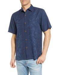 Tommy Bahama - Kamari Border Classic Fit Silk Camp Shirt - Lyst