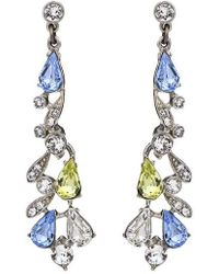 Ben-Amun - Multicolor Round Drop Earrings - Lyst