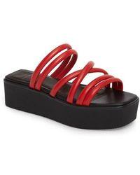 2d1a137763b Vagabond - Shoemakers Bonnie Platform Sandal - Lyst