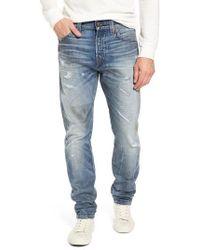 True Religion - Logan Slim Straight Fit Jeans - Lyst